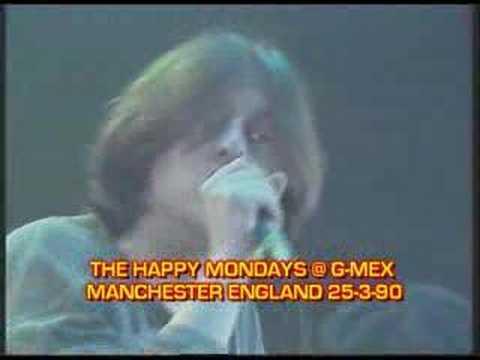 HAPPY MONDAYS @ G-MEX 'STEP ON' LIVE 1990
