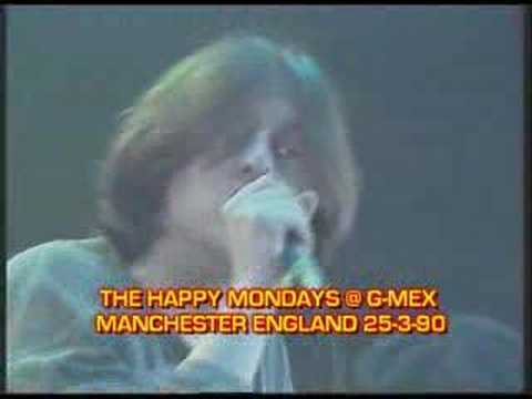 HAPPY MONDAYS @ G-MEX 'STEP ON' LIVE 1990
