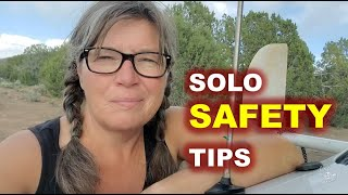 13 RV Living Safety Tips for Solo Women and Men