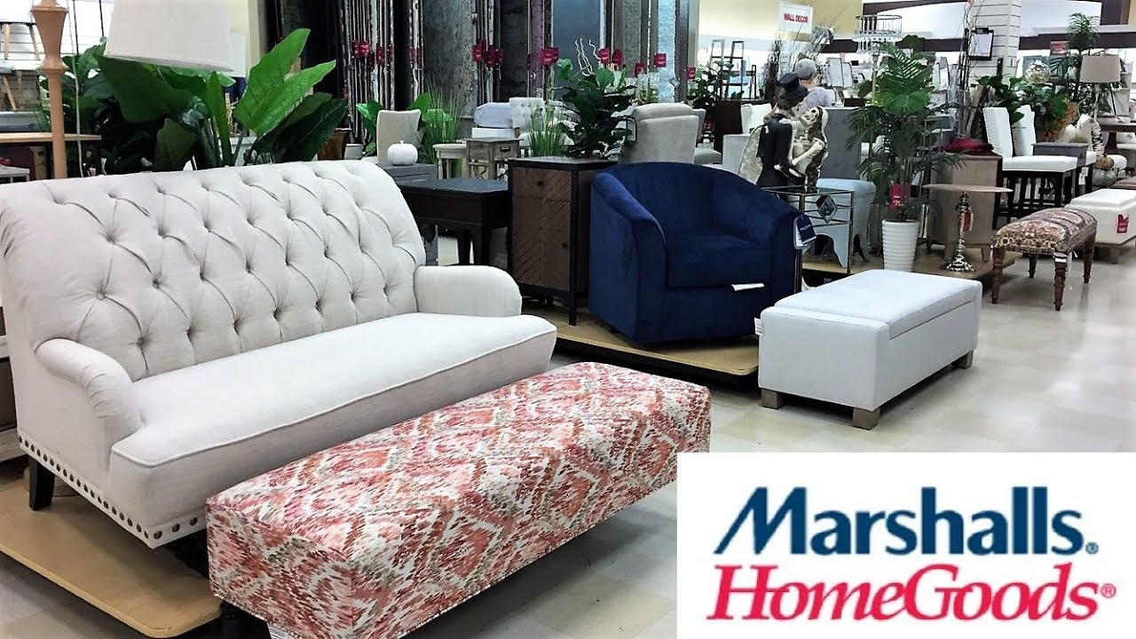 MARSHALLS HOME GOODS FURNITURE SOFAS ARMCHAIRS SHOP WITH ME SHOPPING on home furniture store bedrooms, scandinavian designs furniture sofas, ethan allen furniture sofas, big lots furniture sofas,
