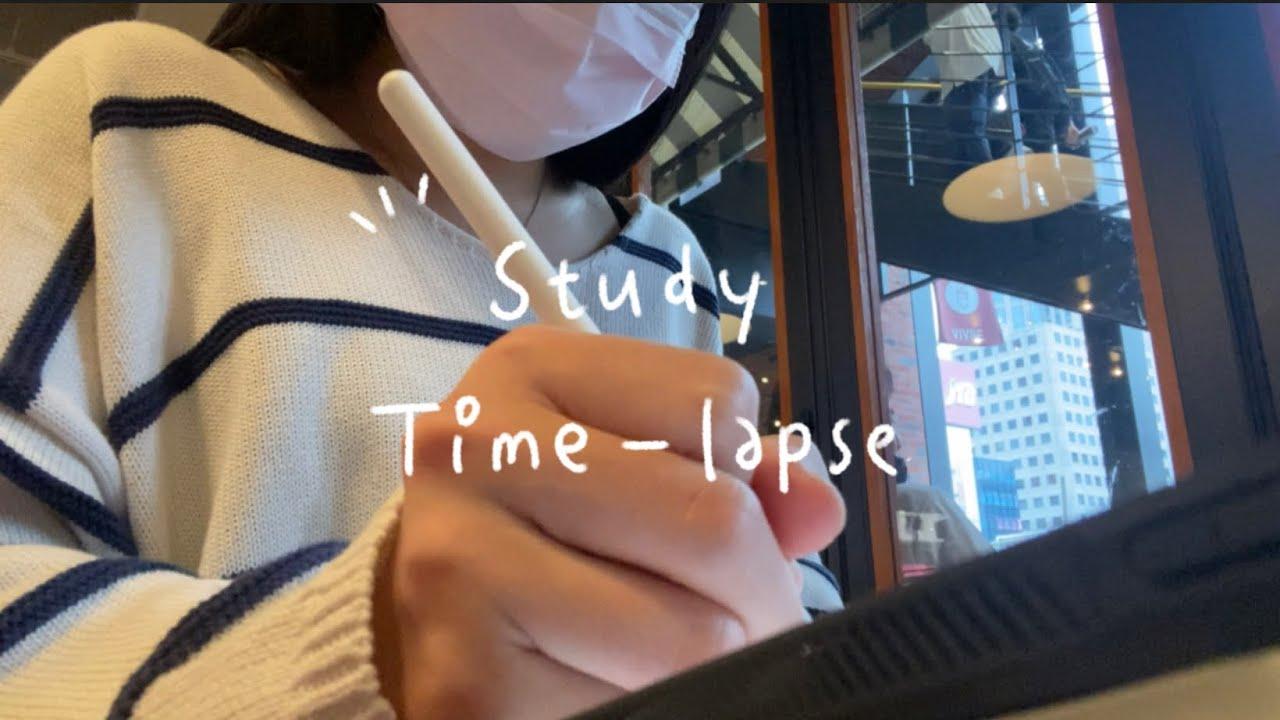 大學Study Diaries⚡️|Exam Week / Study Time-lapse 📚 / dental