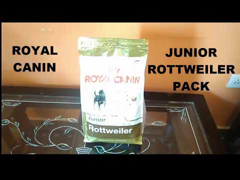 Royal Canin  Junior Rottweiler pack   Best healthy Food for Rottweiler Dog    P FOR PET