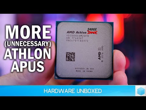 News Corner | AMD Releases Pointless Athlon APUs, RTX 2060 is Coming