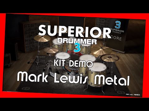 SUPERIOR Drummer 3 - Demo Mark Lewis - Metal - Preset overview TOONTRACK