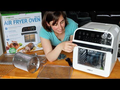 Air Fryer Oven! #Rotisserie & #Dehydrator