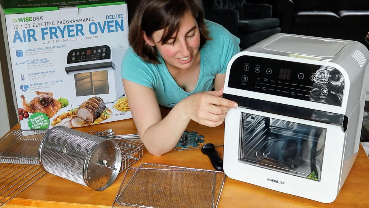 Air Fryer Oven Rotisserie Dehydrator Youtube