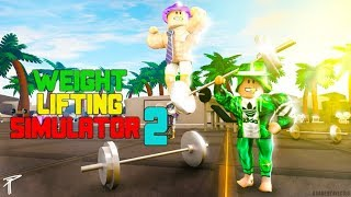 Come EARN Forza e Velocità 2x FASTER in Weight Lifting Simulator 2 in ROBLOX!