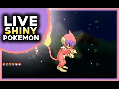 Live Epic Shiny Monferno Island Scan Pokemon Ultra Moon Shiny