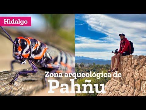 Zona Arqueológica de Pahñu en Tecozautla Valle del Mezquital Hidalgo