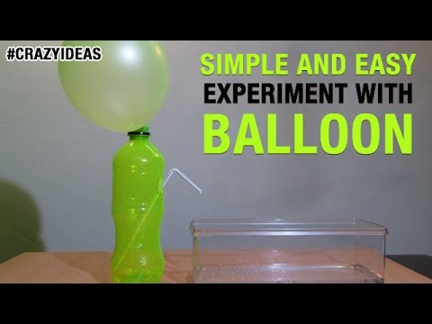 Simple and Easy Science Experiment With Balloon | DIY | Scie