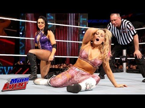 Natalya vs. Aksana: WWE Main Event, Feb. 12, 2014