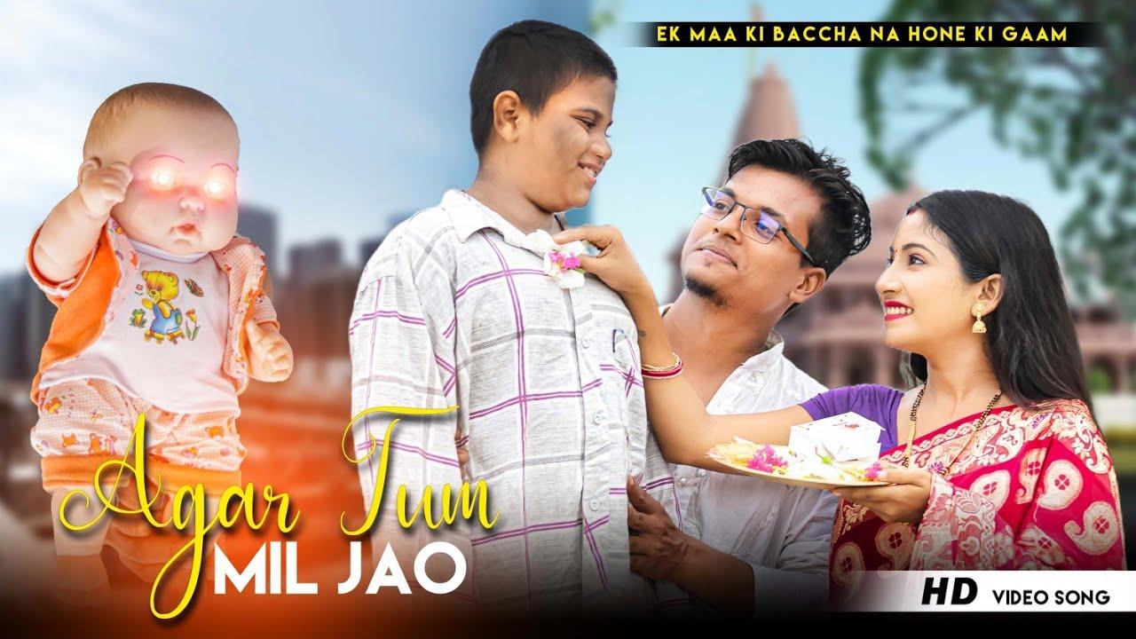 Agar Tum Mil Jao   Ek Maa Ki Baccha Na Hone Ka Gum   Shreya G   New Hindi Song   Love Race   2021