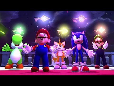 Mario & Sonic at the Sochi 2014 Olympic Winter Games - Legends Showdown Complete Playthrough
