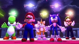 Mario & Sonic aт the Sochi 2014 Olympic Winter Games - Full Game Walkthrough