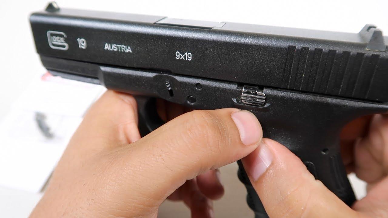 Glock Extended Slide Stop Lever