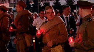 Рассвет со слезами: тысячи краснодарцев пронесли «Свечу памяти» по улицам города