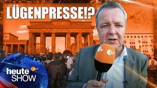 Werden die Medien fremdgesteuert? Carsten van Ryssen in Berlin | heute-show vom 02.05.2014