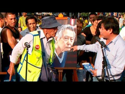 Habla el pueblo respecto al indulto de Alberto Fujimori