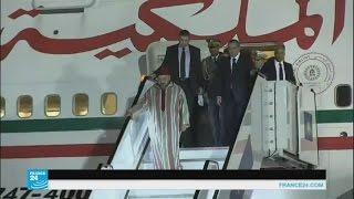 العاهل المغربي محمد السادس يقوم بجولة أفريقية تشمل ثلاث دول