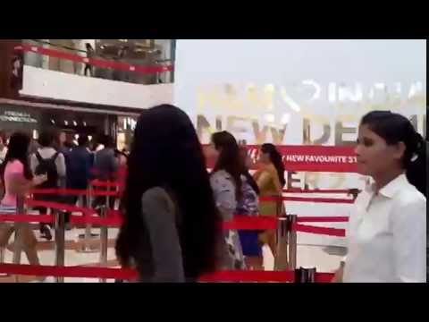 H&M launched in India. And see the response!