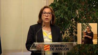 Dimite Pilar Ventura, consejera de Sanidad de Aragón