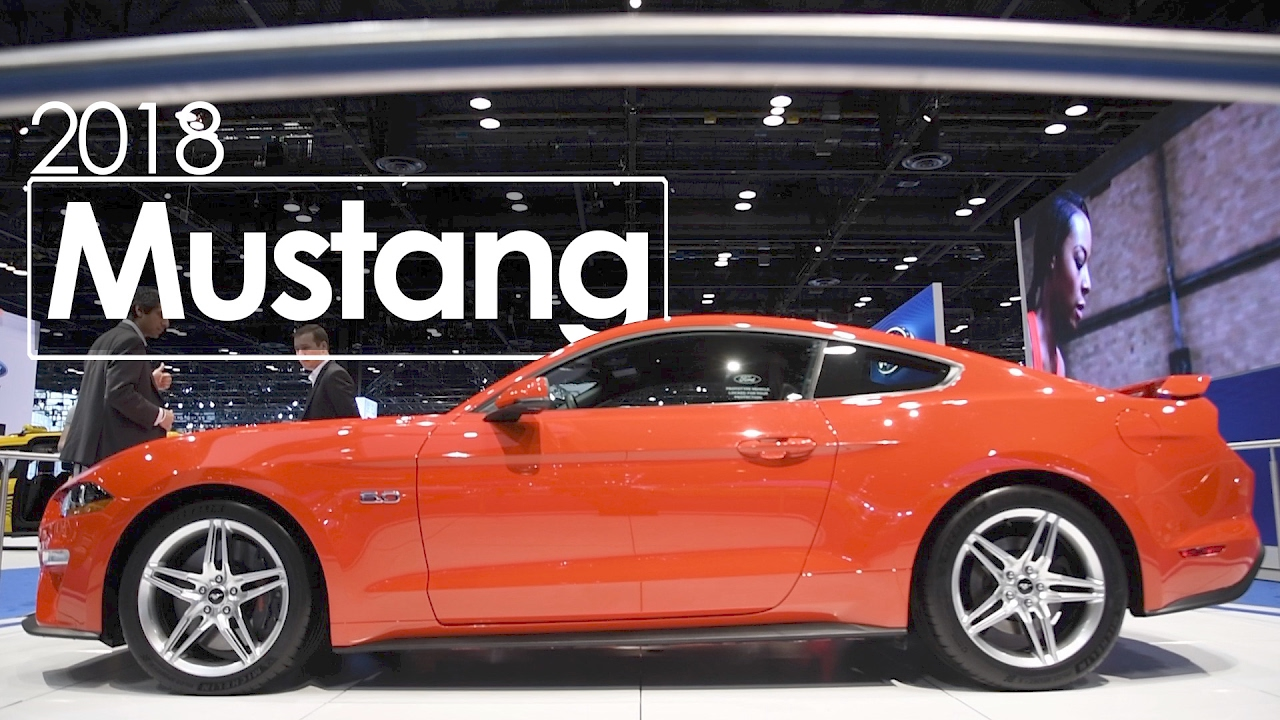 2018 Ford Mustang 2017 Chicago International Auto Show First Look Overview