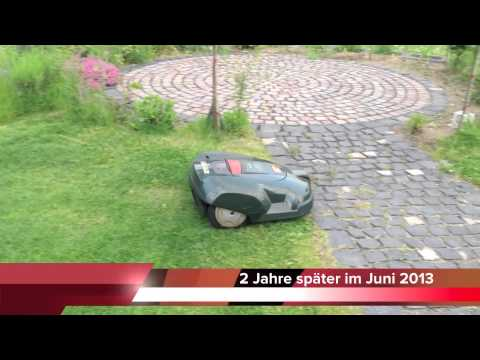 husqvarna automower 210 c erfahrungsbericht youtube. Black Bedroom Furniture Sets. Home Design Ideas