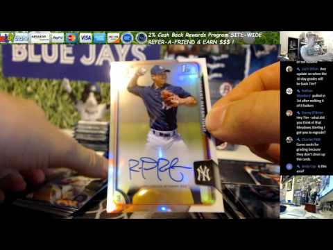 Jorge Mateo Purple Auto! 2015 Bowman Baseball Asia Edition 6 Hobby Box Break Andy Cap