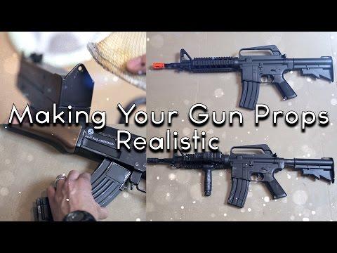 Tomorrows Filmmakers - Making Your Gun Props Realistic