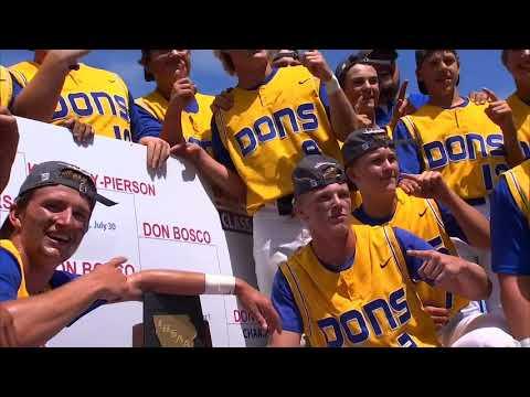 2020 Iowa high school state baseball tournament highlights