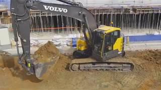 Volvo ECR145E-ECR235E excavators promotional video