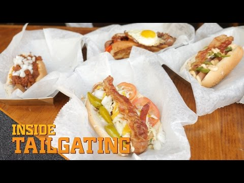 6 Out Of This World Hot Dogs | Inside Tailgating