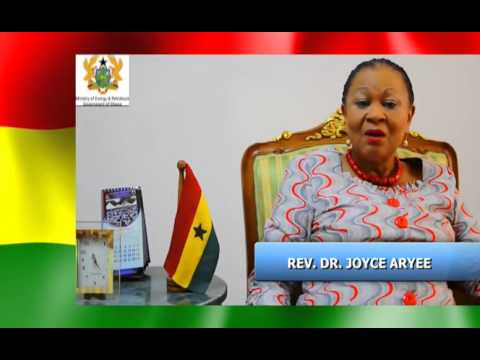 DR JOYCE ARYEE ENDORSEMENT ON ENERGY CONSERVATION AND EFFICIENCY FOR THE MINISTRY OF ENERGY AND PETR