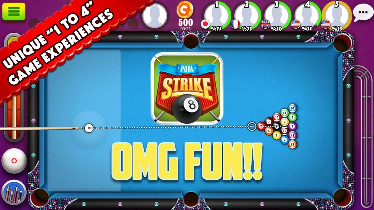 Pool Strike Top Online 8 Ball Billiards Game For Android And Ios Free To Play