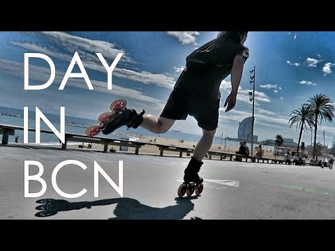 INLINE SKATING ON TRISKATES IN BARCELONA WITH MINH LE HEMMER AND ANTHONY FINOCCHIARO // VLOG 158