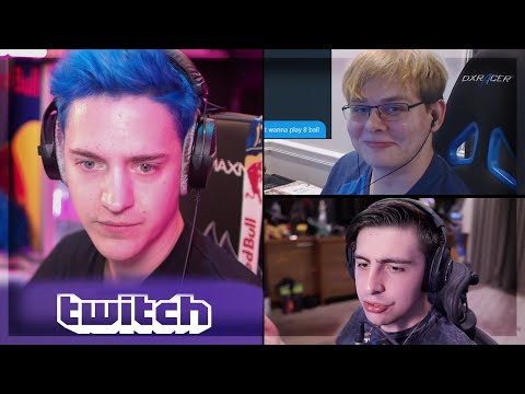 Ninja on Mixer Views, Shroud | CallMeCarson gets away with it | Reynad on Streamers