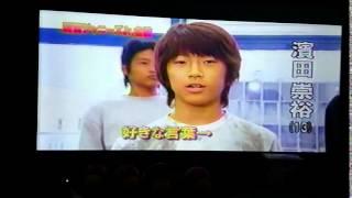2012年10月放送 テレビ初登場.