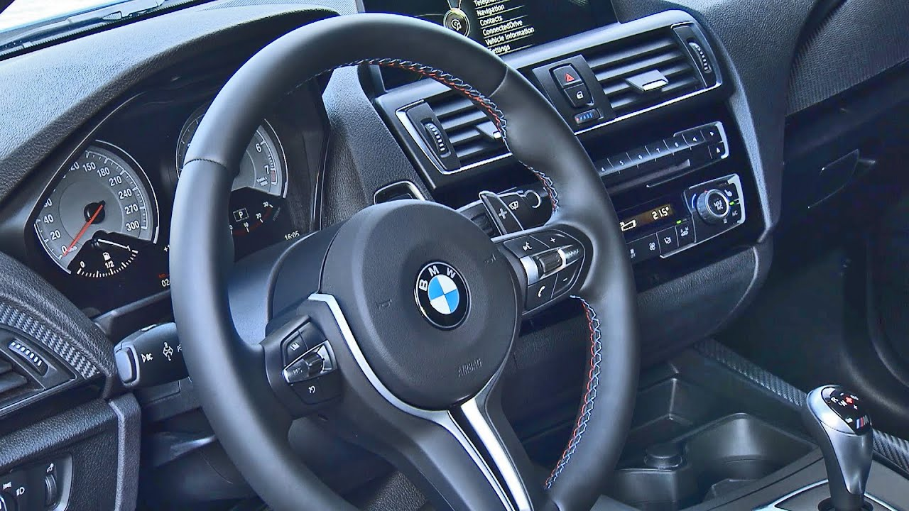 2016 bmw m2 coupe interior youtube