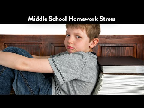 Middle School Homework Stress | CloudMom