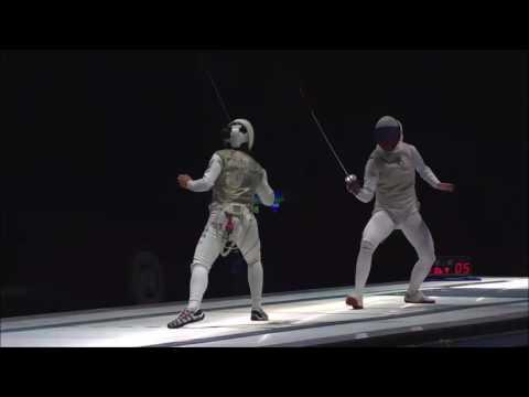2017 Absolute Fencing Gear FIE Grand Prix Long Beach Women's Semis: Kiefer vs. Deriglazova
