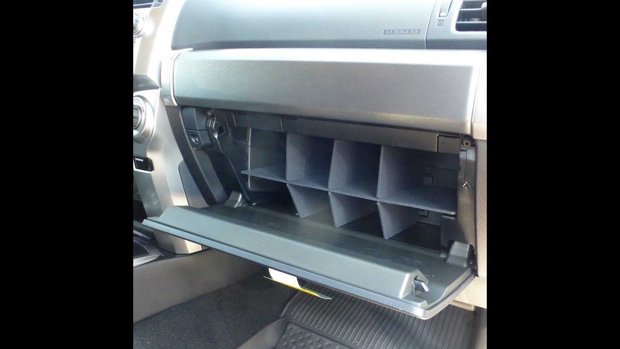 RT-TCZ Glove Box Console Organizer for Toyota 4Runner Glove Compartment Divider 2010-2019