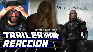 The Witcher TRAILER REACCION español 😱 Trailer Oficial The Witcher castellano 👍 #TheWitcher