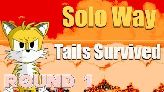 Sonic.Exe: The Spirits of Hell (Round 1) - Tails Solo Survivor - Walkthrough - Fan Game