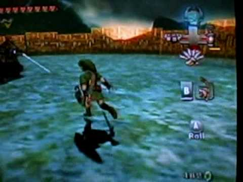 Twilight Princess: Final Boss Fishing Rod Easter Egg!