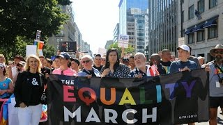 LGBTQ marches taking place across U.S.