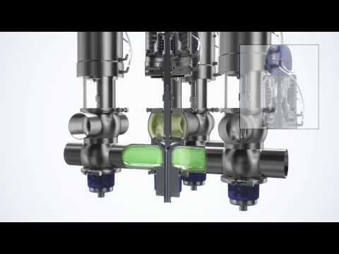 Unique Mixproof Valve -- The Most Advanced Mixproof Valve In The Sanitary Process Industry