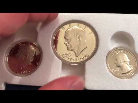 1976 U.S. Bicentennial Proof And Mint Coin Sets And Varieties