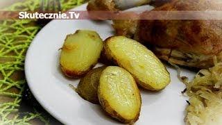 Pieczone ziemniaki w maśle i czosnku :: Skutecznie.Tv [HD]