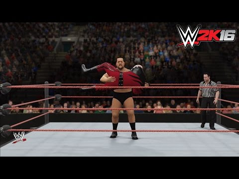 WWE 2k16  Kane vs. Paul Wight The Big  King of the Ring 1999