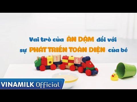 Quảng cáo Vinamilk – Bột ăn dặm RiDIELAC – Vai trò của ăn dặm trong sự phát triển của bé